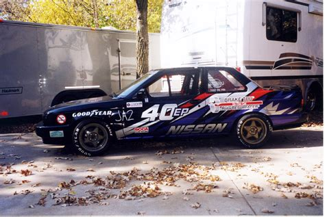 nissan sentra race car looking build 1992 nissan sentra se r e production