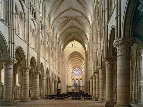 Chartres Cathedral Interior by Chartres Cathedral Interior Da Ara
