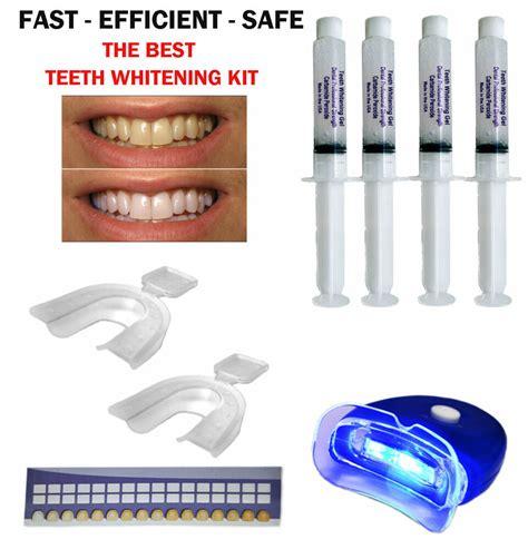 teeth whitening professional dental system kit  home