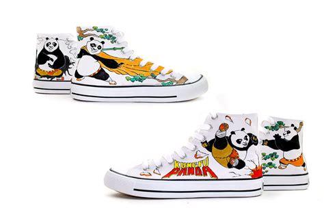 kung fu panda slippers kung fu panda custom canvas shoes kung fu panda photo