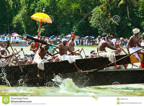 dream boat race snake boat races of kerala editorial photo image 34641726