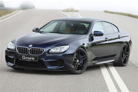 bmw m6 grand coupe official 740hp g power bmw m6 gran coupe gtspirit