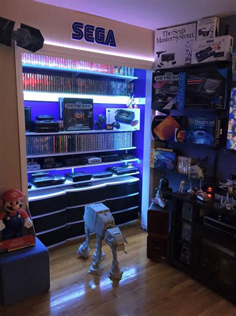 cool ways  video game controller storage home