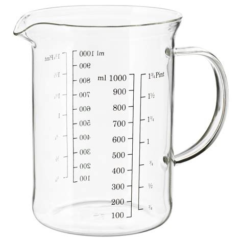 ikea korken glas korken voorraadpot met deksel helder glas 1 l ikea