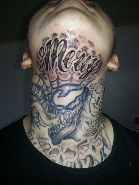the gallery for gt front neck tattoos for men