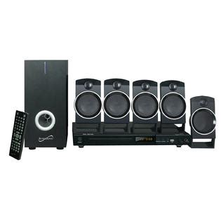 Sharp Home Theater 5 1ch Ht Cn310dvw supersonic 5 1 channel dvd home theater system with usb input karaoke function tvs