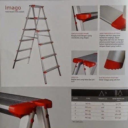 Tangga Aluminium Alca Top I 7 tangga lipat alumunium firnature
