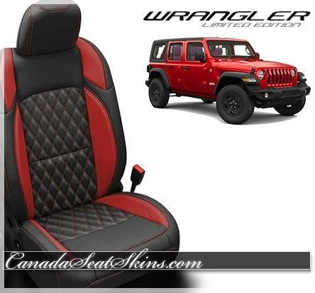 jeep yj seats canada 2018 jeep wrangler katzkin tekstitch custom leather upholstery