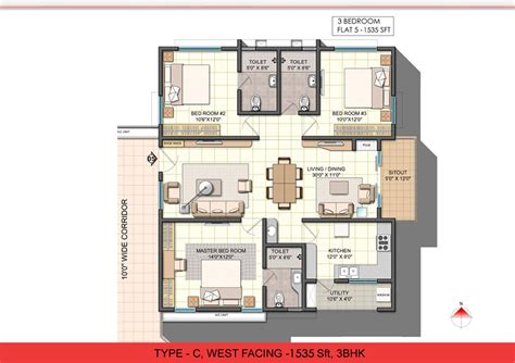 3 bhk single floor house plan glamorous 3 bhk single floor house plan pictures best