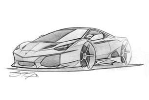 How To Draw A Lamborghini Easy In Defense Of The Batshit Lamborghini Egoista