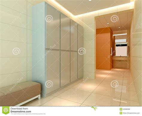 dressing room free 3d dressing room corridor royalty free stock image image 20998386