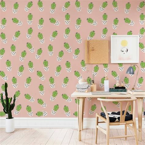 Wall paper Cactus by Wall e