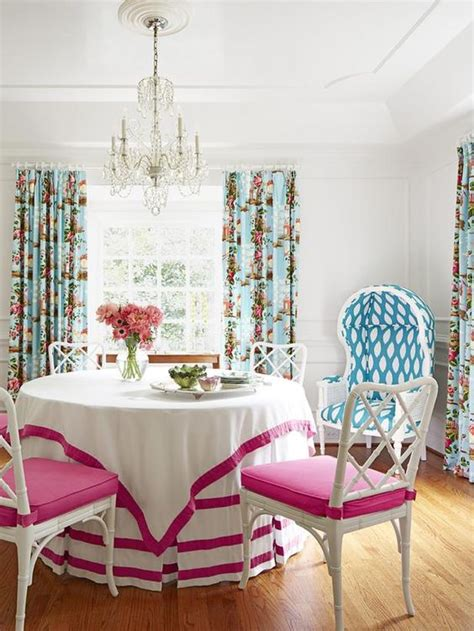 pink dining room chair cushions white chippendale chairs with pink cushions white table
