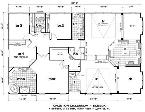 modular triple wide home floor plans and galleries joy