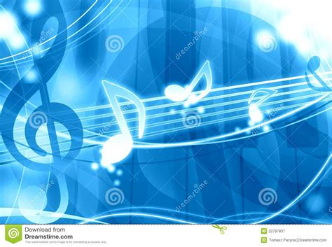 blue soundtrack blue background royalty free stock photography