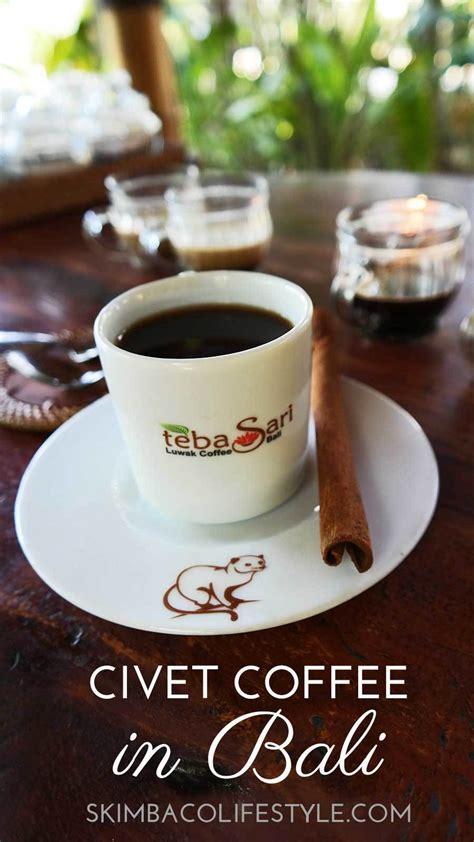 Coffee Indo civet coffee tasting visiting teba sari farm in bali