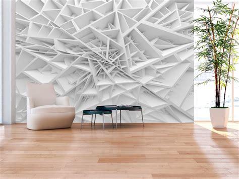 tappezzeria 3d papier peint design white spider s web trompe l oeil