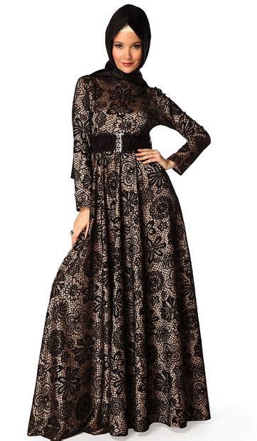 Fashion Dress Wanita Mbm 31 31 koleksi baju muslim modern bentuk dress untuk wanita