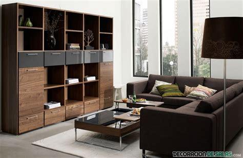 preciosas salas con sof 225 s en color marr 243 n