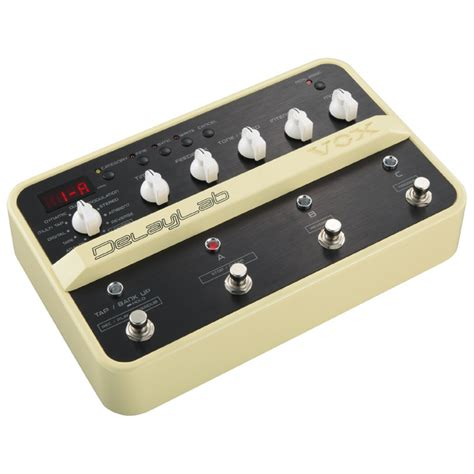 vox delaylab delay effects pedal at gear4music