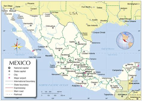 mexico geography gallery download mexico geography map major tourist attractions