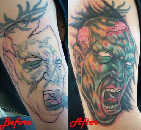 tattoo new school zombie pinz needlez tattoo body piercing tattoos new