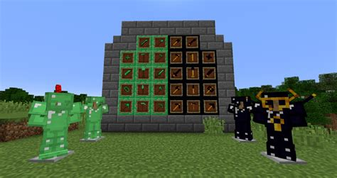 mod hinh anh game java emerald and obsidian mod cho minecraft 1 10 2 1 9 4 mc
