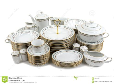 moderne geschirr sets china stock photography image 2152752