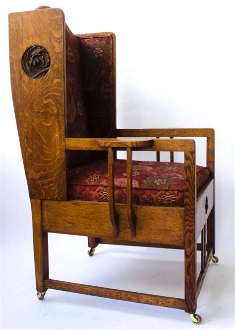 armchair gm attributed to gm ellwood arts and crafts armchair with