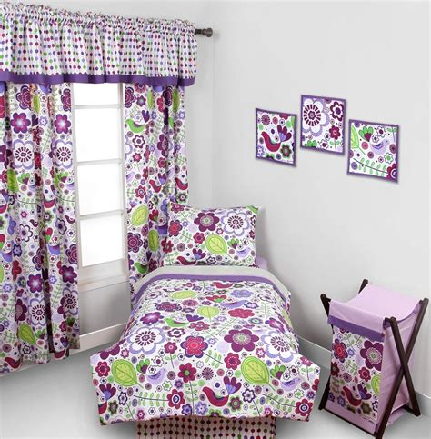 purple toddler bed purple toddler bedding lilac toddler bedding floral toddler bedding