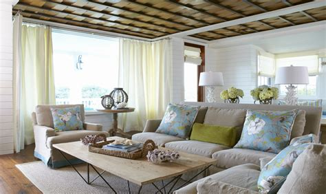 beach home interiors cottage beach house interior blue green beach cottage