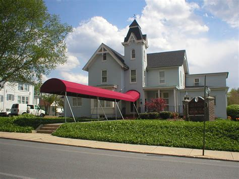 funeral home walkway canopy kreider s canvas service inc