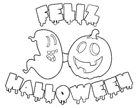 imagenes de halloween free coloring pages of calabaza feliz
