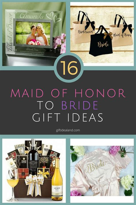 creative bridal shower gift from of honor 27 great of honor gift to ideas