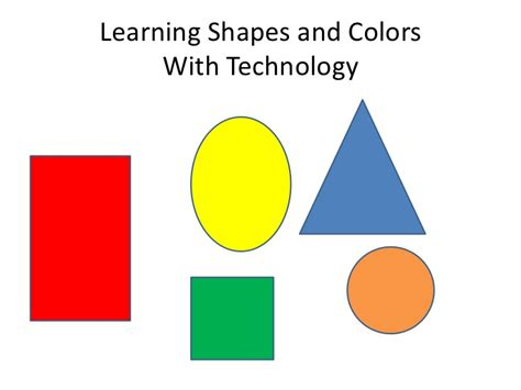 shapes and colors learning colors and shapes