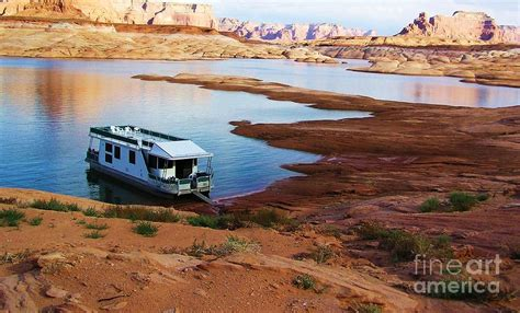 lake powell house boat lake powell houseboat photograph by michele penner