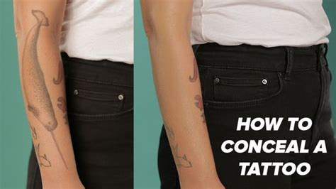 tattoo camo customer service how to easily camouflage a tattoo with makeup if you have