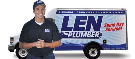 Plumbing Company Baltimore by Plumbing In Baltimore Len The Plumber
