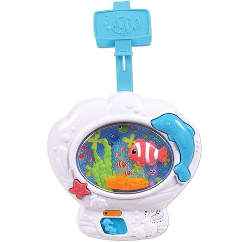 Cribs Toys by Musical Fish Tank Baby Soother Crib Educational Toys