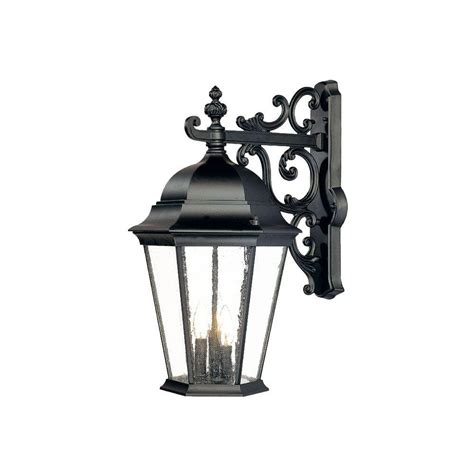 Wall Mount Lighting Fixtures Acclaim Lighting Lanai Collection 2 Light Matte Black Outdoor Wall Mount Light Fixture 7501bk