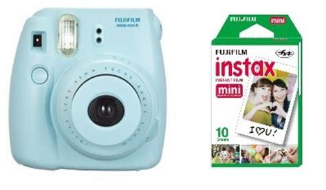 polaroid instant light blue fuji instax mini 8 blue fujifilm instant 50