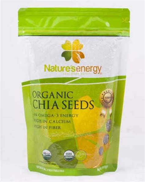 Organic Chia Seeds 250gr natures energy organic chia seed 250gr