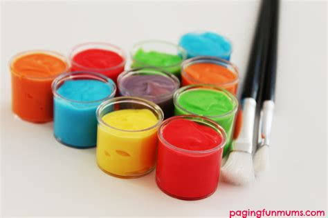 Handmade Paint - paint using only 3 ingredients