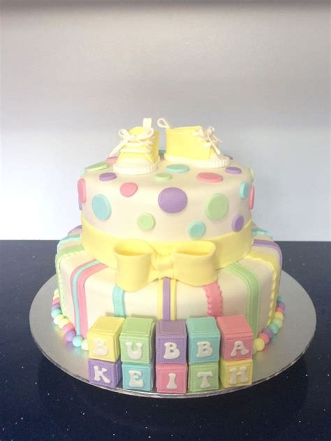 Unisex Baby Shower Cake by Pin By On Baby Shower Cakes