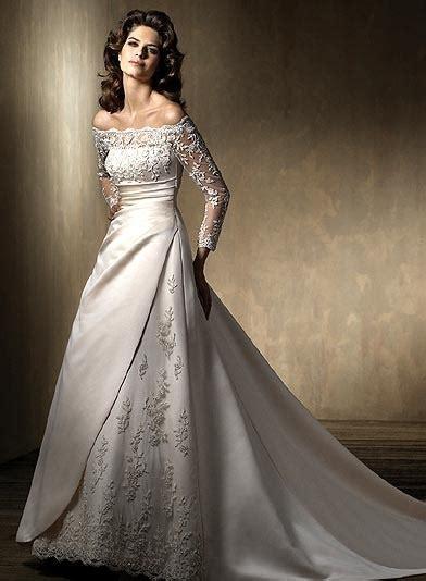 elegant types wedding dress sleeves sang maestro