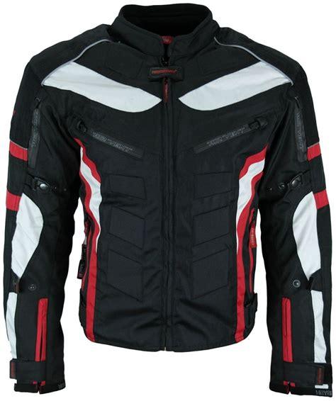 Motorradbekleidung 3xl by Heyberry Textil Motorrad Jacke Motorradjacke Schwarz Rot