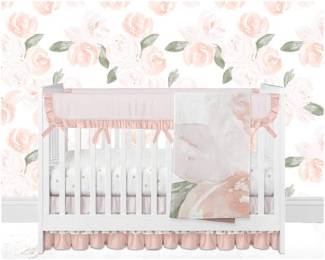 blush baby bedding blush crib bedding letters blush bumperless crib bedding