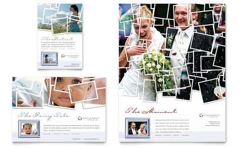 photographer flyer ad template word publisher
