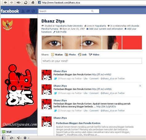 membuat sul facebook keren membuat foto profil facebook lebih keren netcafe