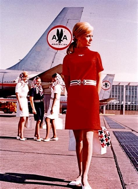 Flight Attendant Fashion by The Most Fabulous Flight Attendant Fashions In History Paper